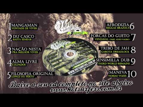 Tribo de Jah   Garota Dreadlock   3ª Coletânea Hot Surfers   Som HD