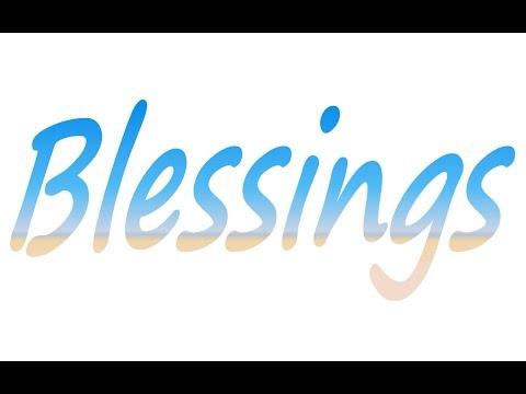 Blessings - Karaoke - WOBGV - Hi Key - Always Glorify God!!!