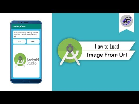 How To Load Image From Url In Android Studio | LoadImage | Android Coding