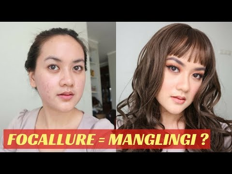 FOCALLURE ONE BRAND MAKEUP TUTORIAL on Acne Prone Skin