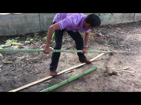 Thailand 2016 - Splitting Bamboo