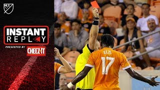 Houston gets 3 red cards and coach dismissed!!