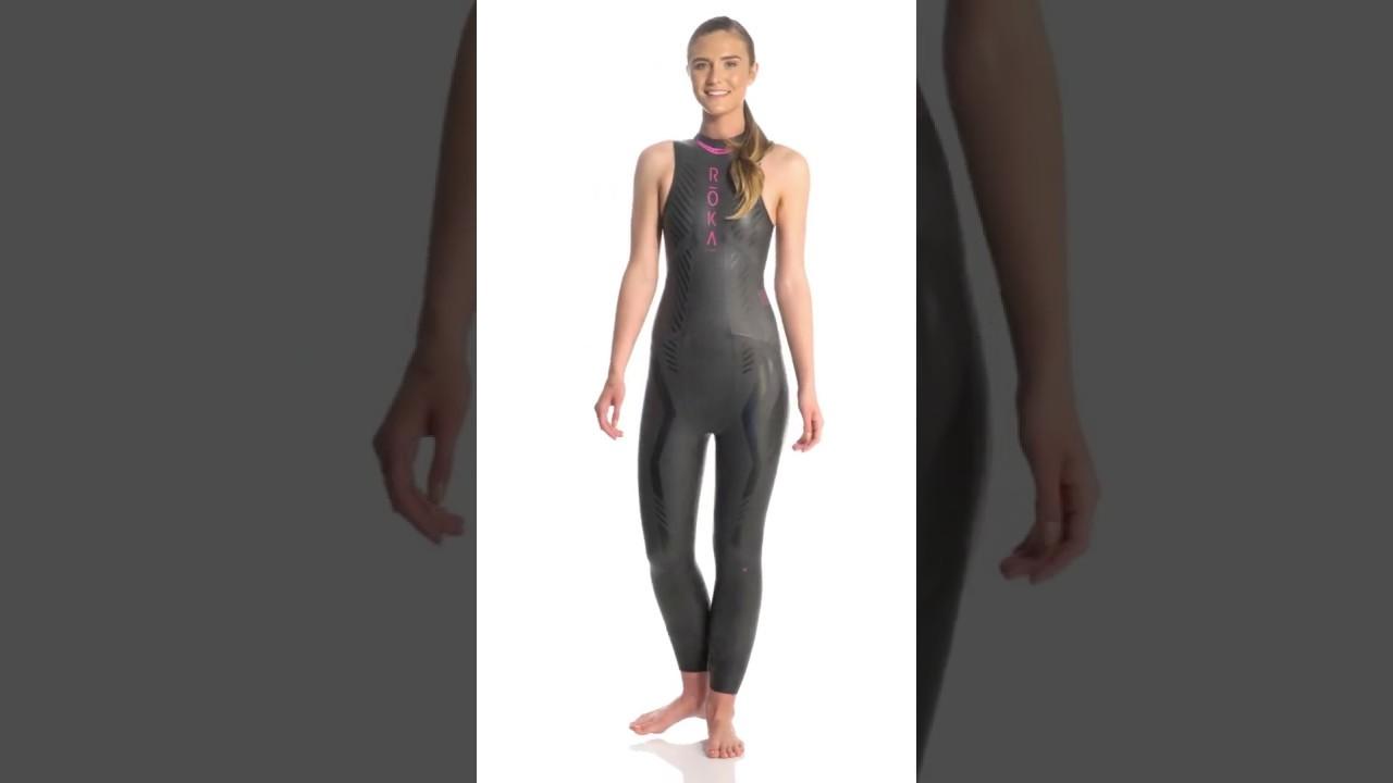 ROKA Women s Maverick Pro II Sleeveless Tri Wetsuit  f96043c0c