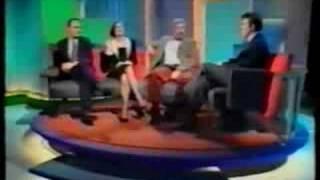 jonathan ross interviews blakes 7 actors gareth thomas michael keating jacqueline pearce