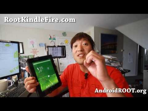 How to Root & Convert Kindle Fire HD 8.9 into Pure Android Tablet!