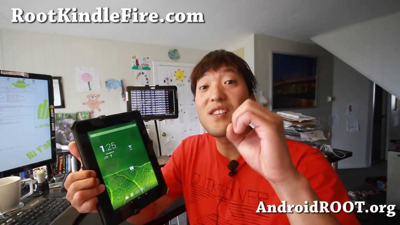 How to Root & Convert Kindle Fire HD 8 9 into Pure Android Tablet!