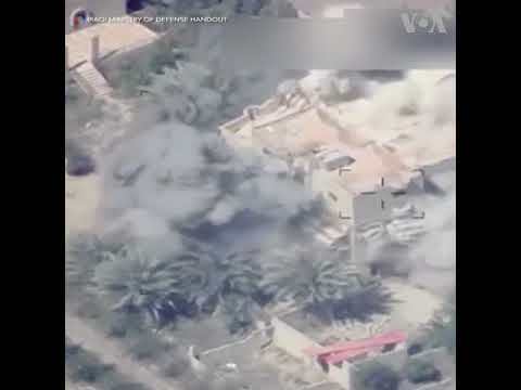 Iraqi Jets Strike IS Positions for First Time in Syria