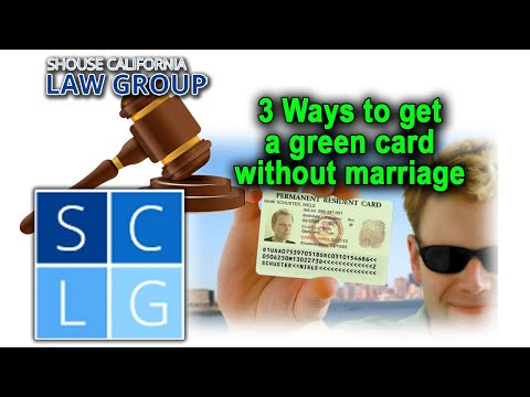 3 ways to get a green card without marriage