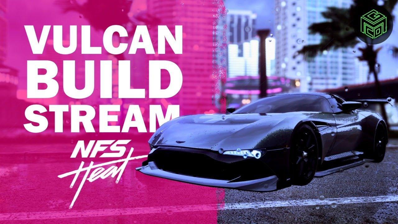 Nfs Heat Aston Martin Vulcan Build And Customization Youtube