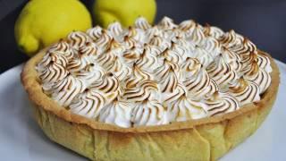 Recette facile de la tarte au citron meringuée (US subtitles - lemon pie)