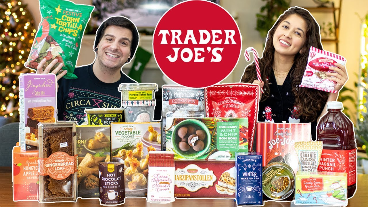 $100 Trader Joe's Holiday Haul + Taste Test