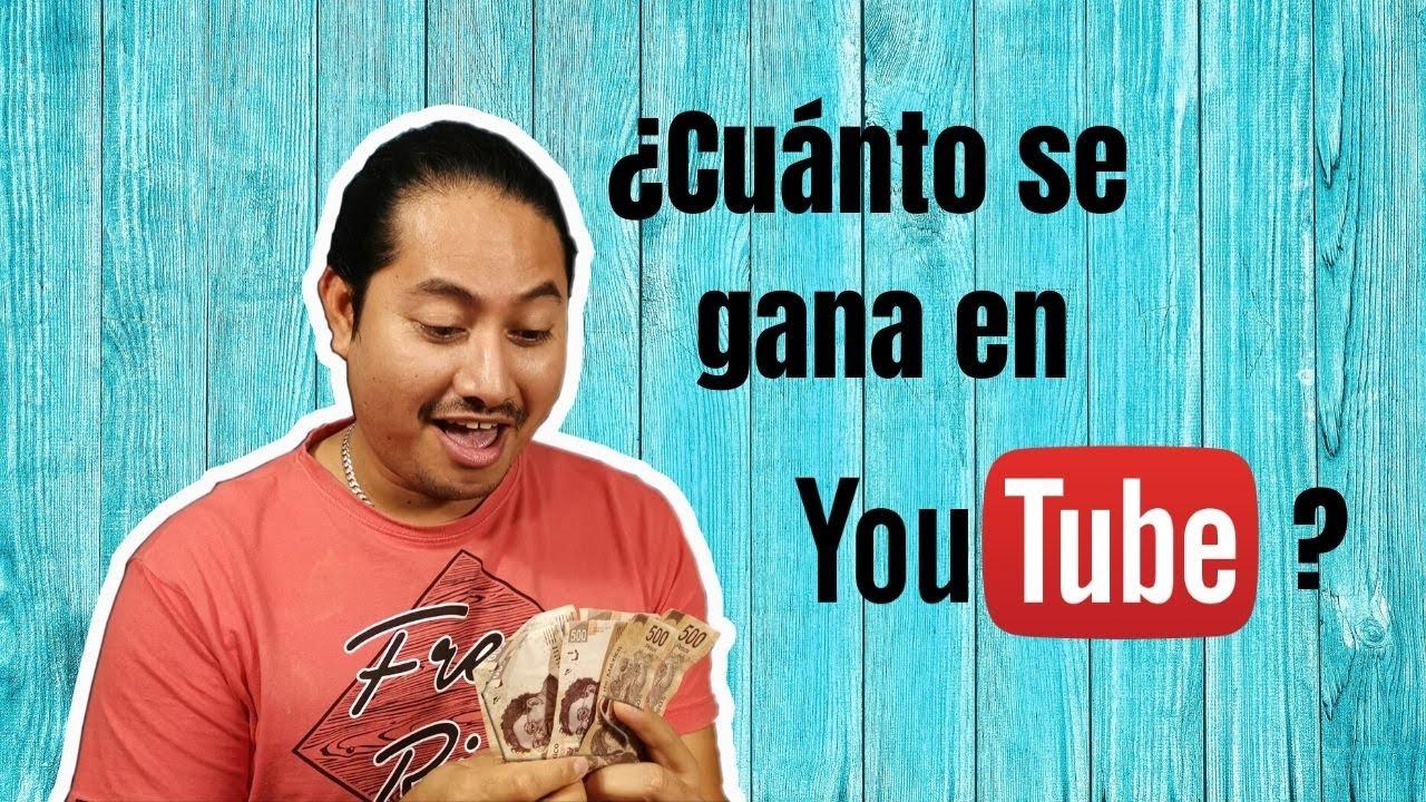 Cuanto se gana en Youtube 👀 DINERO Y SIN MENTIRAS 👀
