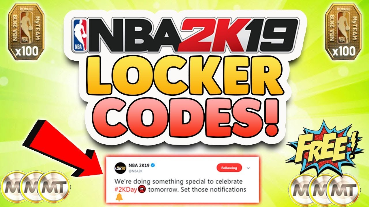 Nba 2k19 Locker Code For Free Mt And Reward Tokens Youtube Ps4 20th Anniversary Edition Region 3 English
