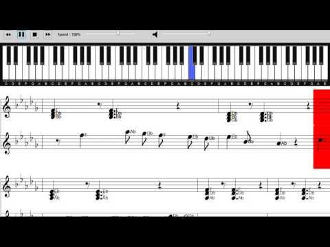 Meghan Trainor - Dear Future Husband - Sheet Music - Piano Tutorial