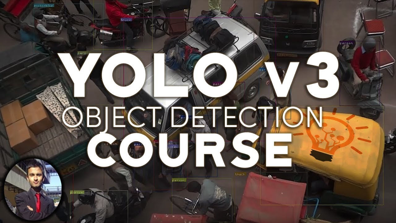 Introduction to Yolo V3 Object Detection - FULL COURSE
