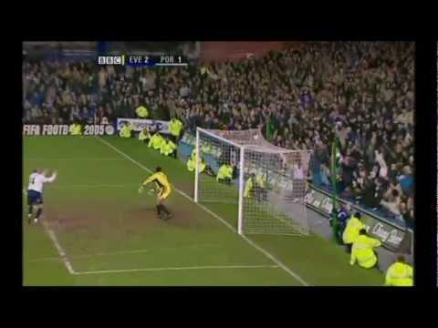 Everton 2-1 Portsmouth. 2005. osman.