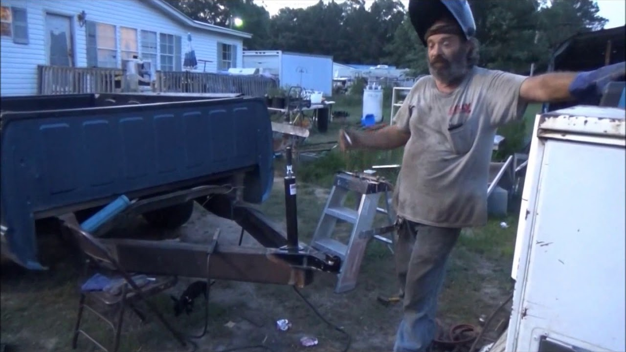 Download How to build a truck bed trailer part 2