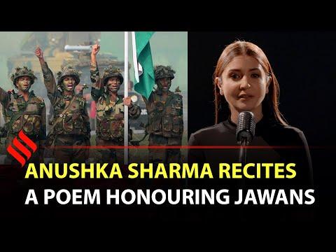 Anushka Sharma Recites A Poem Honouring Jawans | #RepublicDay Special