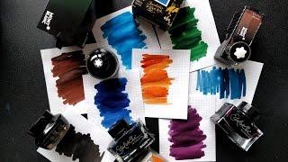【不是闷】2016最爱的8款钢笔墨水   2016 Top 8 Favorite Fountain Pen Inks