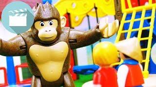 Playmobil Film Deutsch | GORILLA auf dem SPIELPLATZ