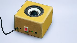 How to make a simple Amplifier at home - Easy