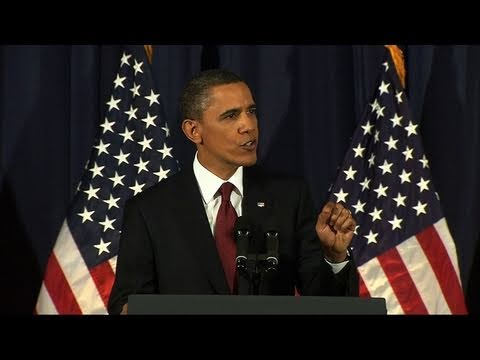 Watch President Obama's Full Speech on the U.S. Mission in Libya