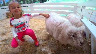 ВЛОГ в Зоопарке! Ярослава кормит животных! Развлечения для детей - Tiki Taki Cook