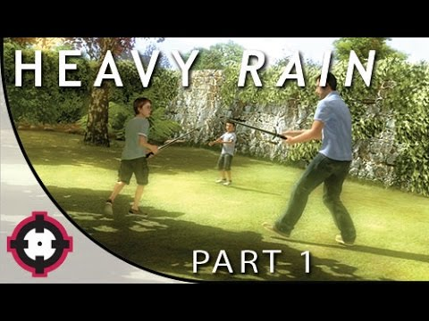 Heavy Rain Blind Let's Play Gameplay PS4 // Part 1 - First Impressions!