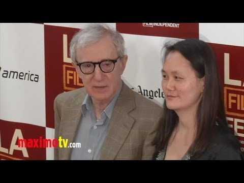 "Woody Allen and Soon-Yi Previn ""To Rome With Love"" Premiere LA Film fest"