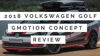 2018 Volkswagen Golf Variant TGI GMotion Concept First & Review