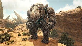 ARK Sa Mạc #13: Cưỡi Lightning Wyvern Đi Săn Rock Golem Và Cài Kết ... !!