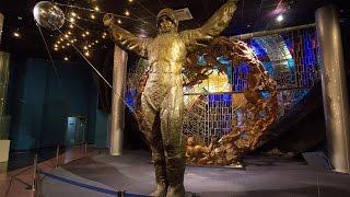видео День космонавтики в музее