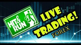 Forex Live Trading with Hit&Run || Recovering the losses!