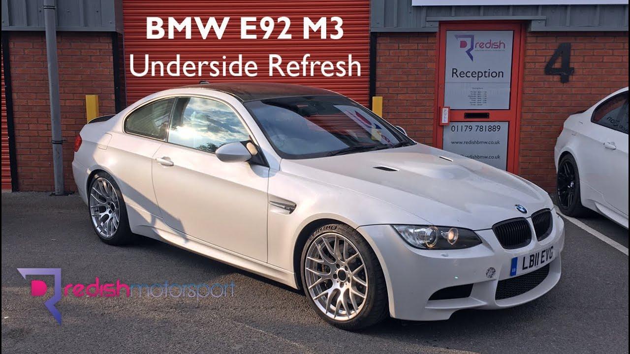 BMW E92 M3 - Underside Refresh - POR-15 - Nitron - AP Racing - Powerflex