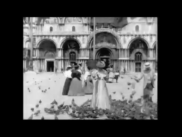 Venice 1896 - The first video of Venice by Lumière Brothers