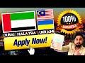 DUBAI MALAYSIA UKRAINE SAME DAY PROCESS | GUARANTEED WORK