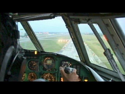 Ilyushin 62 into Havana, Cuba!