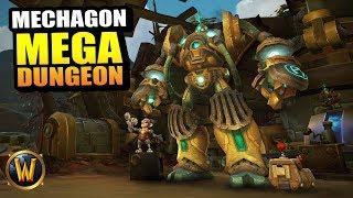 Operation: Mechagon MEGA DUNGEON HARD MODE // World of Warcraft