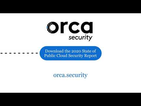 Orca Security 2020 State of Public Cloud Security Report