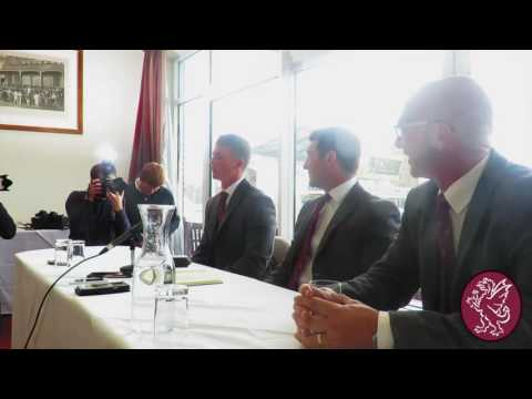 Tom Abell Press Conference [FULL]
