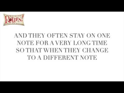 A Musical - Something Rotten (Lyrics + References)