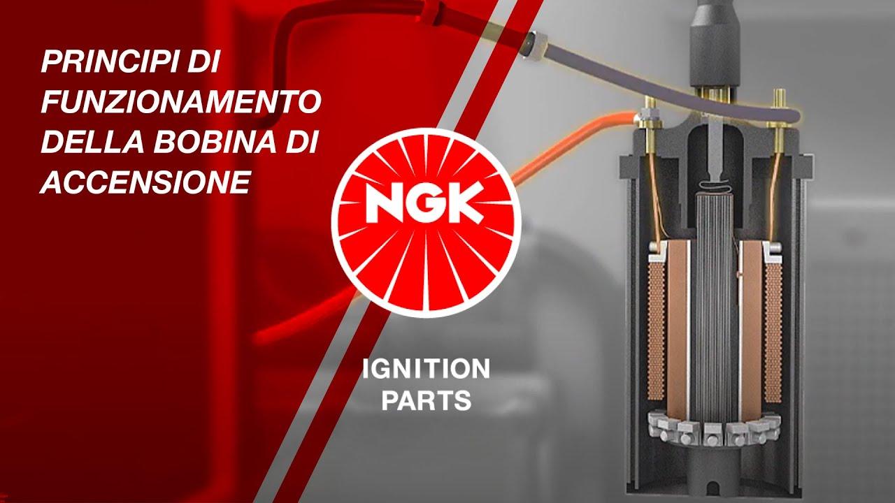Schema Elettrico Bobina Di Accensione : Principi di funzionamento della bobina di accensione youtube