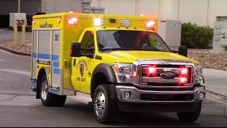 Clark County Fire Dept. NEW Squad 32 & R32 responding