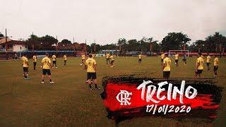 Treino do Flamengo - 17/01/2020