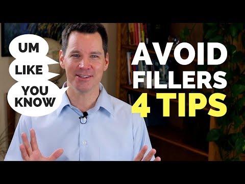 How to Avoid Filler Words