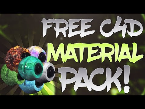 Free Cinema 4D Material Pack In  2019/2020 (Works With All Versions)