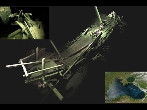 Dozens of ancient shipwrecks spotted deep beneath the Black Sea