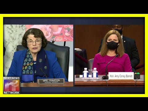 WOW! Watch ACB Shock the HELL Out of Dem Senator Feinstein with PERFECT Answer to Tricky Question