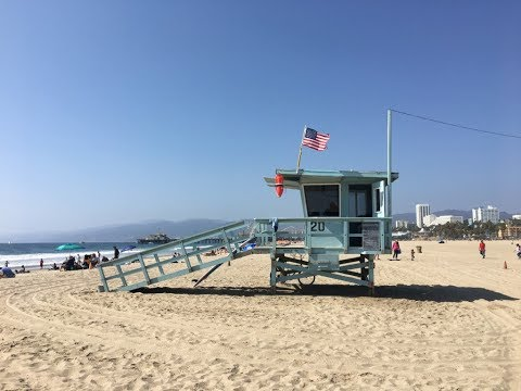 California Los Angeles: Universal Studio, Beverly Hills, Santa Monica, Hollywood walking tour GoPro