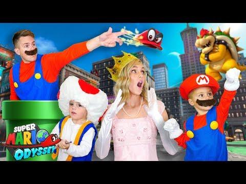BEST HALLOWEEN COSTUMES EVER! | Super Mario Odyssey 2017!